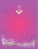 Purple Glow with Flourish Menu Background