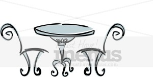 Table and Chairs Clipart Cafe Clipart
