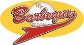 Barbeque Basball Pennant Word Art