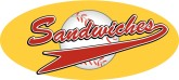 Sandwiches Basball Pennant Word Art