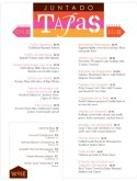 tapas menu template tapas menu tapas menu template tapas bar menu