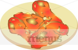 Buffalo Wings Clipart