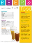 Color Blocks Pub Food Menu