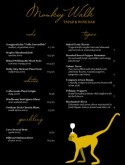 Gold Monkey Wine Bar Menu