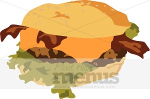 Cheeseburger Clip ArtBacon Cheeseburger Clip Art