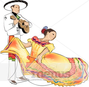 Mexican Dance Clipart | Mexican Clipart