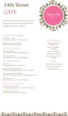 Bistro Mother's Day Menu Long