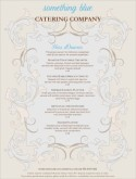 Elegant Wedding Catering Menu