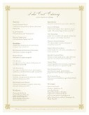 Breakfast Catering menu