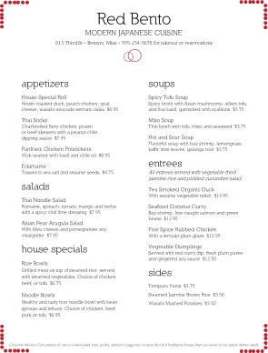 Japanese cuisine menu japanese menus for Asian cuisine menu