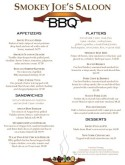 Kabob Barbeque Menu