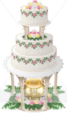 cake for dad formal cake clipart wedding clipart 2234