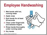 Kitchen Handwashing Procedure Sign