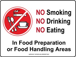 Food Preparation Kitchen Sign Restaurant Management Tools