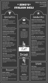 Casual Deli Menu Long