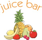 Juice Bar with Fruit