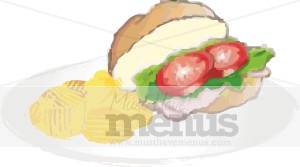 Turkey Sandwich Clipart