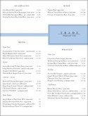 Label Wine List