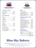 City Bakery Menu