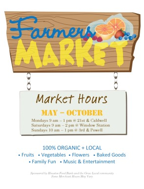 Farmers Market Flyer Summer Flyers
