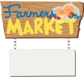 Farmers Market Sign Clipart