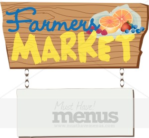 Clip Art Farmers Market Clipart farmers market menu templates musthavemenus 24 found sign clipart