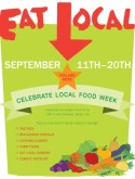 Eat Local Week Flyer