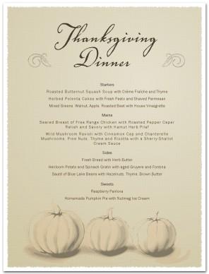 Thanksgiving day menu template thanksgiving menus maxwellsz