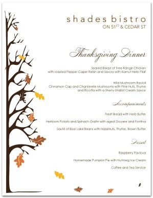 Traditional thanksgiving menu template thanksgiving menus maxwellsz