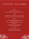 Restaurant Christmas Menu