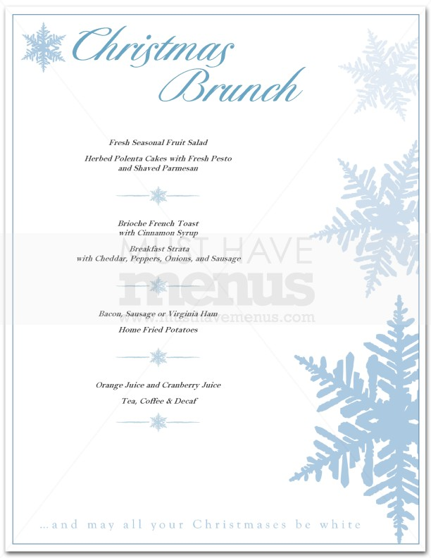 Christmas Brunch Menu Ideas Southern Living
