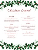 Vegetarian Christmas Menu