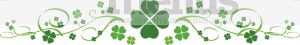 Shamrock Flourish Clipart
