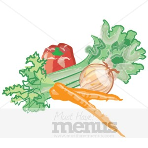 Vegetable Email Graphic