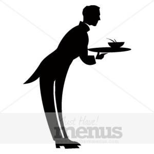 Waiter Email Graphic  Waiter Icon