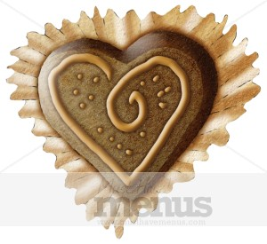 Chocolate Heart Clipart