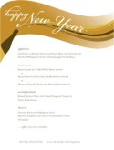 Menu for New Years Eve