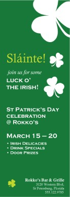 Customize St Patricks Day Flyer