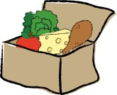 Boxed Lunch Clipart