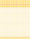 Yellow Gingham Menu Background