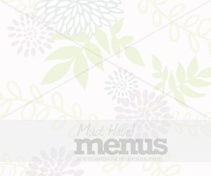 Floral Email Background