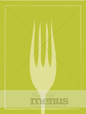 Fork Menu Background