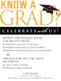 Graduation Announcement Flyer