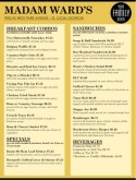 Italian Family Restaurant Menu