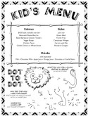Web Kids Menu