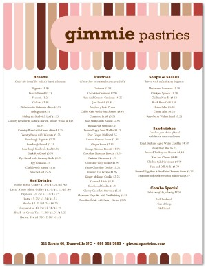 Bakery desserts menu template bakery menu thecheapjerseys Images