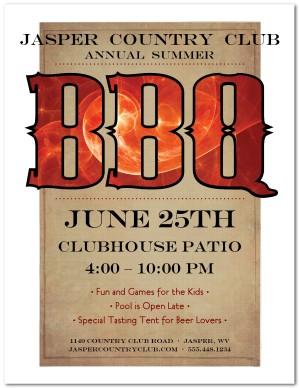 barbeque flyer template Summer BBQ Flyer Template | Summer Flyers