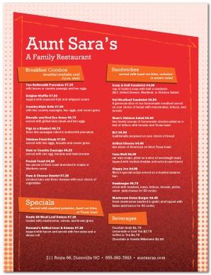 American restaurant menu template american menu for American cuisine menu