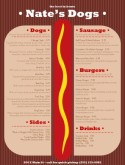 Hot Dog Grill Menu