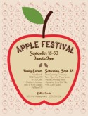 Apple Festival Flyer